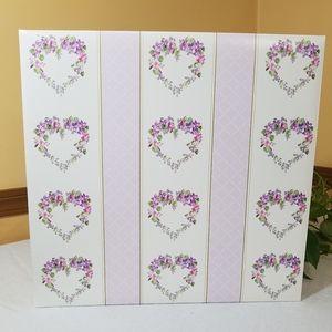 Floral Hearts Scrapbook, NWOT, Carlton Cards